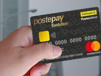 Finanziamenti PostePay Evolution